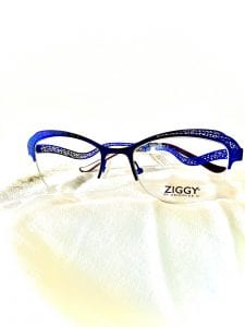 Blue Fysh Eye Frames